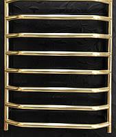 Золотой полотенцесушитель Ольха 08П 500*800 АЗОЦМ , фото 1