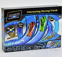 Трубопроводный автотрек + 2 машинки р/у. Детский водный авто трек труба, трубопровод, для детей. 72 детали