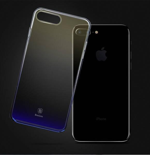 Чехол Baseus iPhone 7/8+ Glaze Black