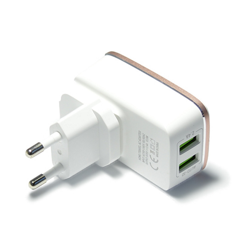 Зарядное устройство LDNIO A2204 + cable micro USB New powerful charging ser. White
