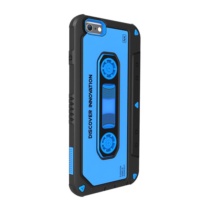 """Чохол-накладка Nillkin для iPhone 6/6S (4.7"""") Music ser. Синій(124578)"""