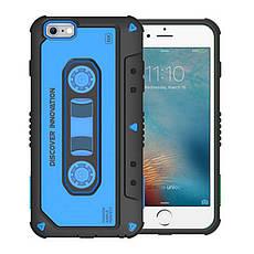 """Чохол-накладка Nillkin для iPhone 6/6S (4.7"""") Music ser. Синій(124578), фото 3"""