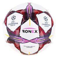 Мяч футбольный Ronex, гибридный, FN красный