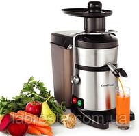 Соковыжималка GoodFood FJ200 электрическая для твердых овощей и фруктов