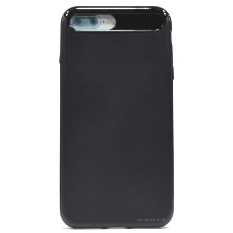 "Чохол-накладка Rock для iPhone 7 Plus (5.5"") Vision ser. TPU+PC Чорний"
