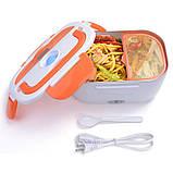 Електричний Ланч Бокс 12V з підігрівом Ланч-Бокс Автомобільний Lunchbox харчової контейнер, фото 4