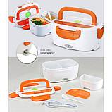 Электрический Ланч Бокс 12V с подогревом Ланч-Бокс Автомобильный  Lunchbox пищевой контейнер, фото 2