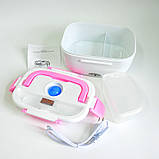 Электрический Ланч Бокс 12V с подогревом Ланч-Бокс Автомобильный  Lunchbox пищевой контейнер, фото 6