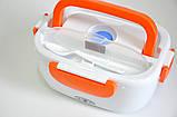 Електричний Ланч Бокс 12V з підігрівом Ланч-Бокс Автомобільний Lunchbox харчової контейнер, фото 5