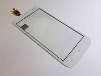 Тачскрин сенсор для FLY IQ4404 Spark белый