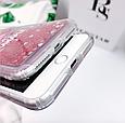 "Чехол накладка силикон ""Блестки Фламинго"" для iPhone X/XS, фото 7"