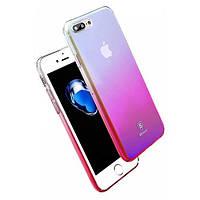 Чехол Baseus iPhone 7/8+ Glaze Pink