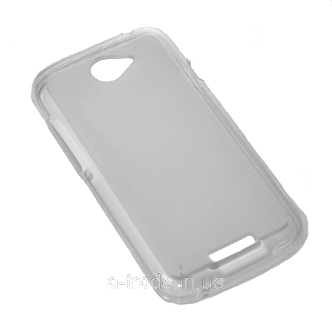 чехол силиконовая накладка для телефона Htc Ones Z560e Z520e