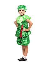 Детский карнавальный костюм Арбуз ( кофта, шорты и шапочка) креп-сатин