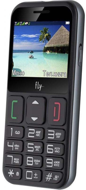 Мобільний телефон FLY Ezzy 9 Dual Sim (black)