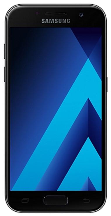 Смартфон SAMSUNG SM-A520F Galaxy A5 Duos ZKD (чорний)