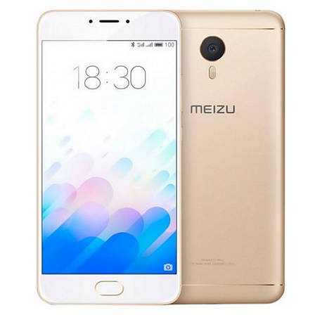 Смартфон MEIZU M3 Note 2/16GB Золотистий, фото 2