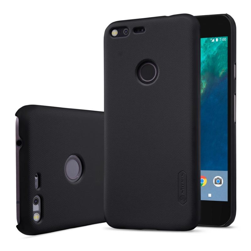Чохол-накладка Nillkin для Google Pixel XL Matte ser. +плівка Чорний