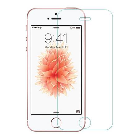 Захисне Скло Nillkin для iPhone 5/5S/SE Anti-Exposion Glass Screen 9H(заокруглені краї) Прозоре, фото 2