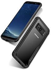 Чохол-накладка iPaky для Samsung G955 S8 Plus Luckool ser.TPU+PC Чорний, фото 2