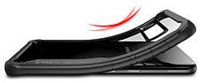 Чохол-накладка iPaky для Samsung G955 S8 Plus Luckool ser.TPU+PC Чорний, фото 3