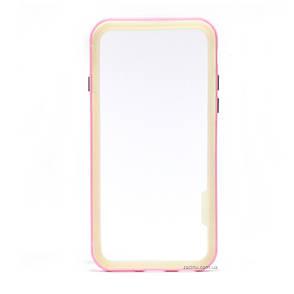 Чохол-бампер Spigen для iPhone 6/6S NEO Hybrid ser. Прозорий/Рожевий(992216), фото 2