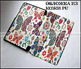 Цветные бабочки женский чехол Huawei T3 8 KOB-L09, чехол книжка TFC Butterflies, фото 5