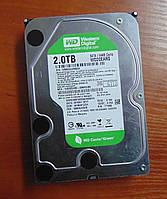 2000GB Винчестер WD20EARS жесткий диск 2TB WesternDigital , фото 1