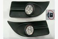 Противотуманки LED (2010-2014, диодные) - Fiat Doblo III nuovo 2010+ и 2015+ гг.
