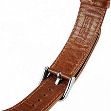 Ремешок Icarer для Apple iWatch 42mm Classic Genuine Leather ser. Светло-коричневый, фото 3