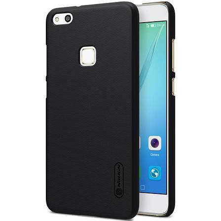 Чохол-накладка Nillkin для Huawei P10 Lite Matte ser. +плівка Чорний, фото 2