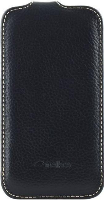 Чохол-фліп Melkco для Samsung i8262 Premium ser. Чорний