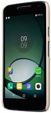 Чохол-накладка Nillkin для Motorola Moto G4 Play Matte ser. +півка Золотистий(129269), фото 2