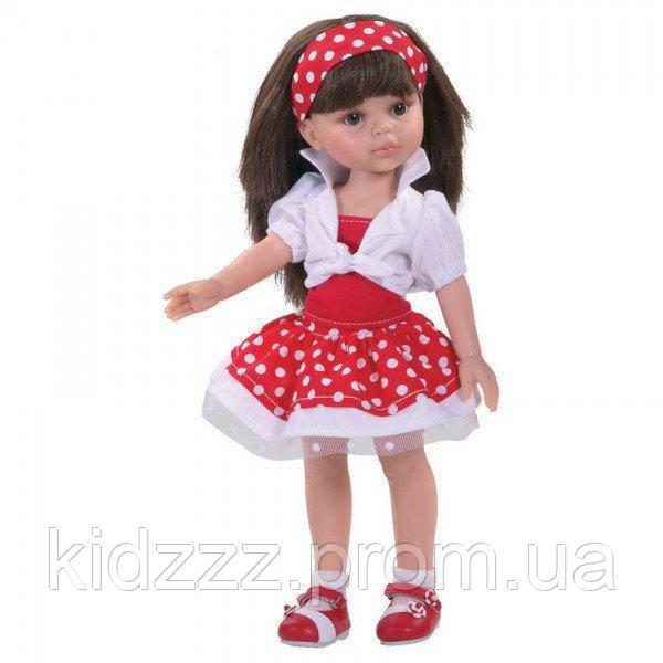 Кукла Кэрол в красном, 32 см Paola Reina (Паола Рейна, Испания)