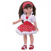 Кукла Кэрол в красном, 32 см Paola Reina (Паола Рейна, Испания), фото 1