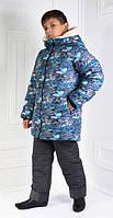Зимний костюм для подростка (куртка+полукомбинезон)