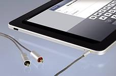Аудіо-відео кабель Hama Jack 3.5мм -2 x Тюльпани 100см Чорний-сірий, фото 2