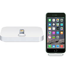 Док-станция iPhone 5 / 5S / SE / 6 / 6S / 6SPlus / 7 / 7Plus Lightning Серебристый (325553), фото 3