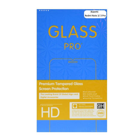 Захисне Скло Ultra Tempered Glass для Xiaomi Redmi Note 3/ Redmi Note 3 Pro 9H Прозоре, фото 2