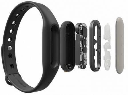 Фітнес-Браслет Xiaomi Mi Band 1A (XMSH03HM) Чорний, фото 2