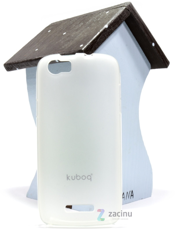 Чехол накладка Kuboq для FLY IQ4405 Advanced ser. TPU Прозрачный / матовый