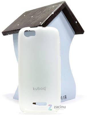 Чехол накладка Kuboq для FLY IQ4405 Advanced ser. TPU Прозрачный / матовый, фото 2