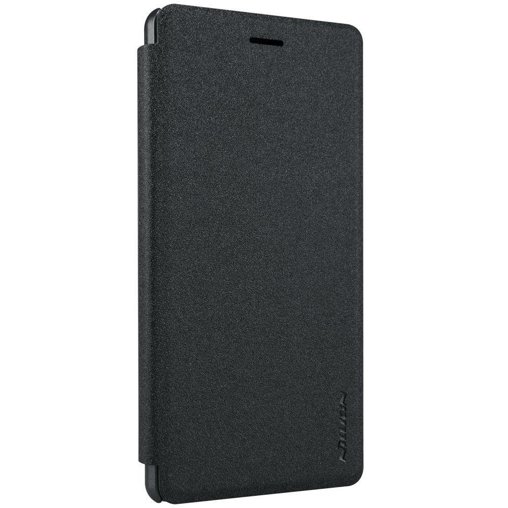 Чохол-книжка Nillkin для Huawei P8 Lite Sparkle ser. Чорний