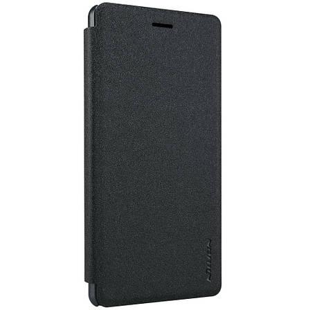 Чохол-книжка Nillkin для Huawei P8 Lite Sparkle ser. Чорний, фото 2