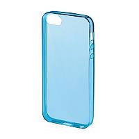 Чохол-накладка Hama для iPhone 5/5S/SE Clear ser. Блакитний