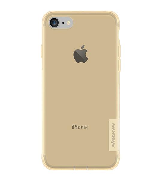 """Чохол-накладка Nillkin для iPhone 7 (4.7"""") Nature ser. Золотистий/прозорий(127494)"""