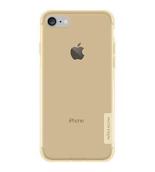 """Чохол-накладка Nillkin для iPhone 7 (4.7"""") Nature ser. Золотистий/прозорий(127494), фото 2"""