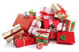 Новогодняя бумага для упаковки подарков