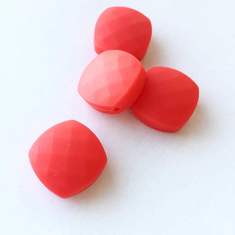 Ромб плоский (красный)