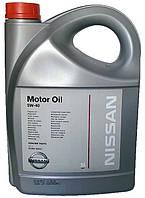 Моторное масло синтетика Nissan (Ниссан) 5w40 5л